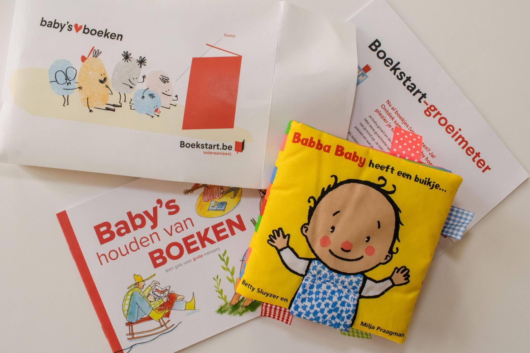 Boekstart-babypakket