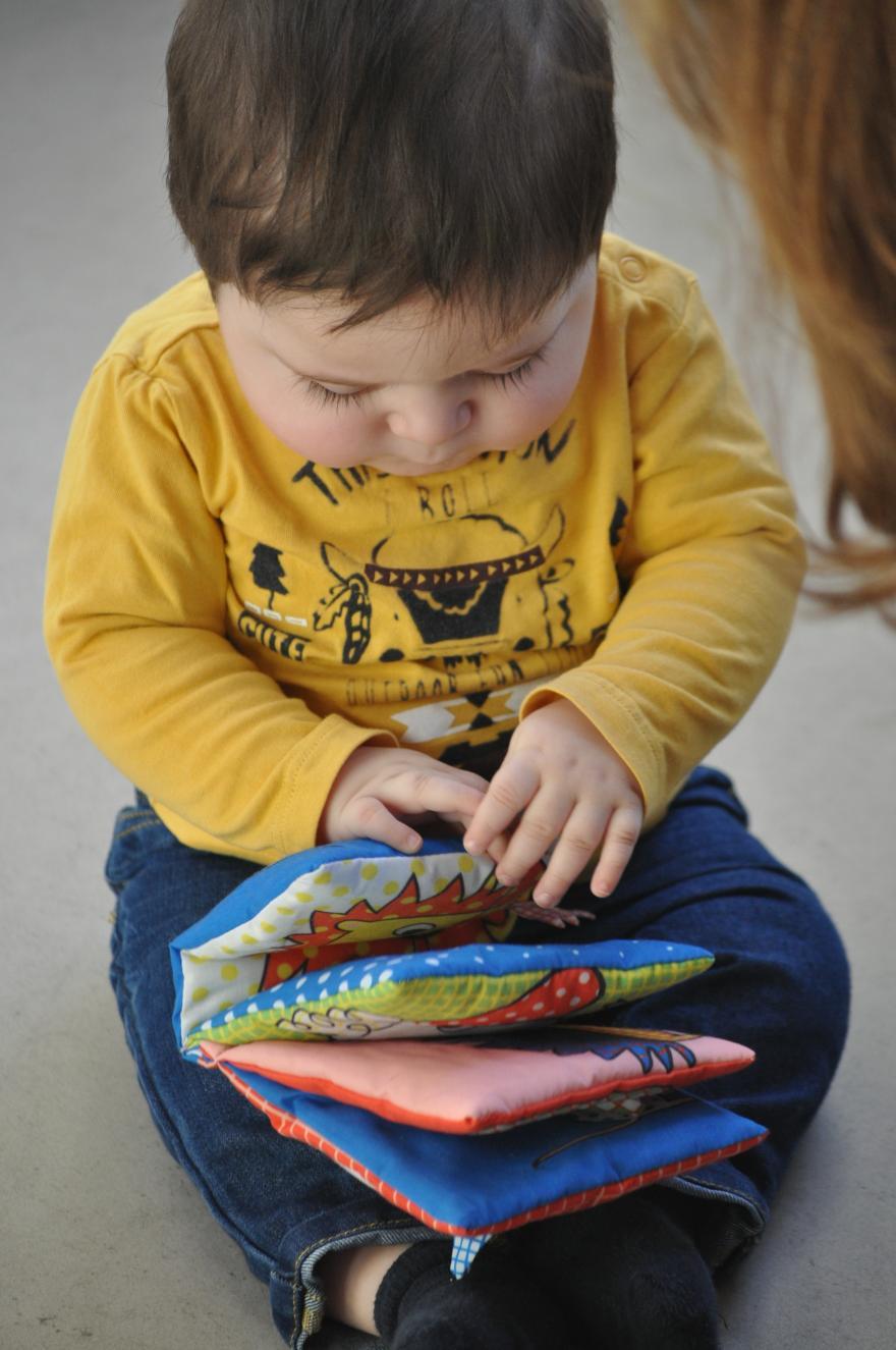 Boekstart-vorming interactief voorlezen aan baby's en peuters