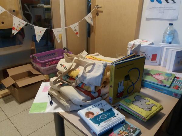 boekstart in de kinderopvang, Ukkel